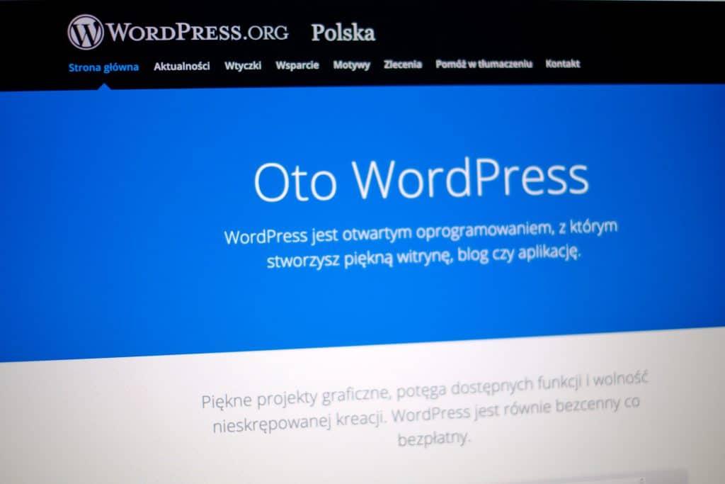 Instalacja WordPressa dla bloga kulinarnego.