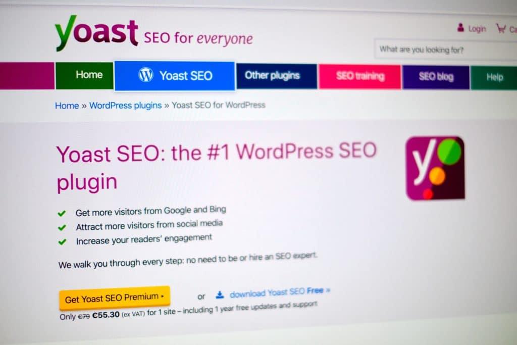 Yoast SEO - niezbędna wtyczka do WordPressa dla każdego bloga, nie tylko kulinarnego.