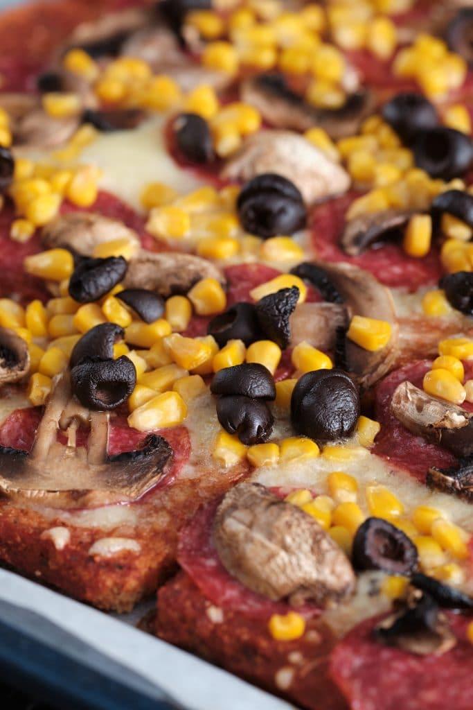 Pizza na Chlebie Tostowym.