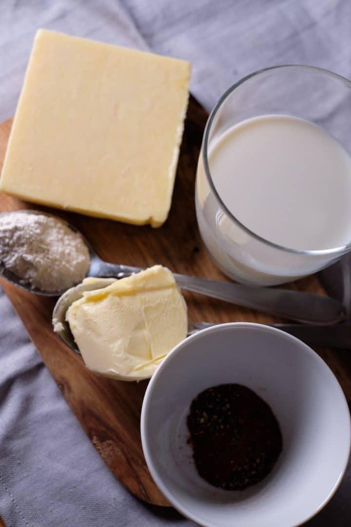Sos serowy - składniki